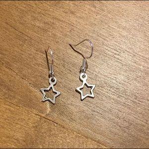 ellajanesjewelry - Open Star earrings